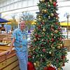 Mike with Pool Christmas Tree