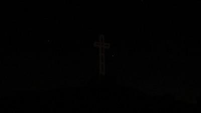 Christmas Eve from Mt. Soledad, La Jolla - 12/24/2013