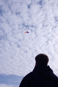 JJ Flying a Kite