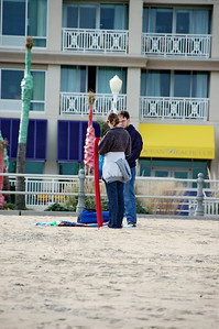 JJ & Andrea Flying a Kite