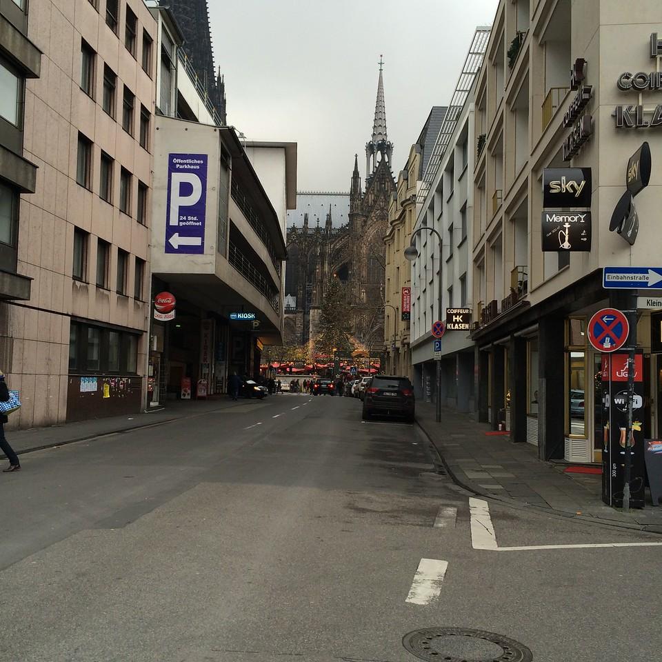 Landscape domination: Cologne Cathedral