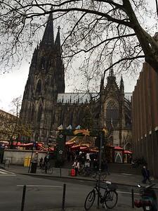 Weihnachtsmarkt Kölner Dom