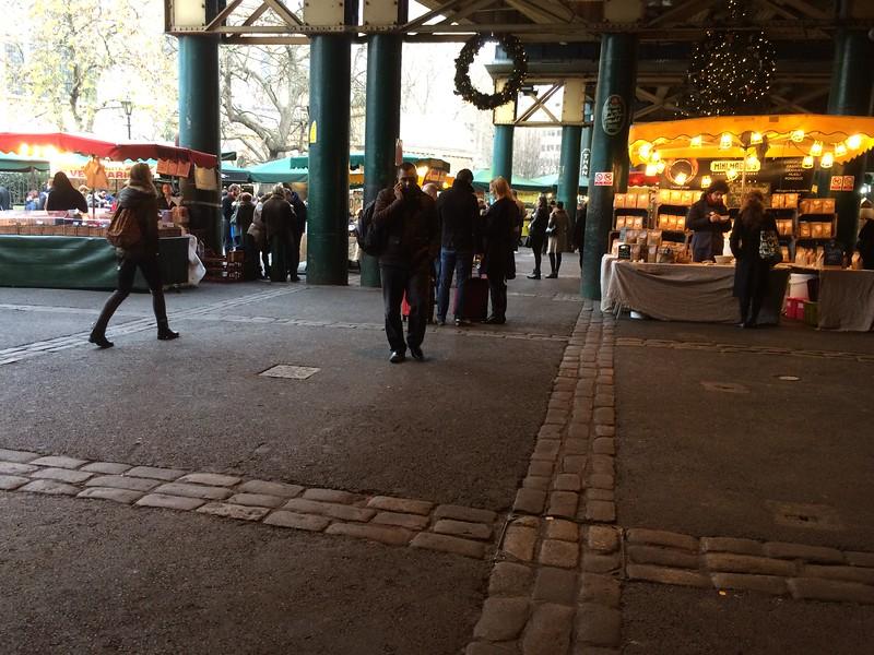Borough Market: In case it rains