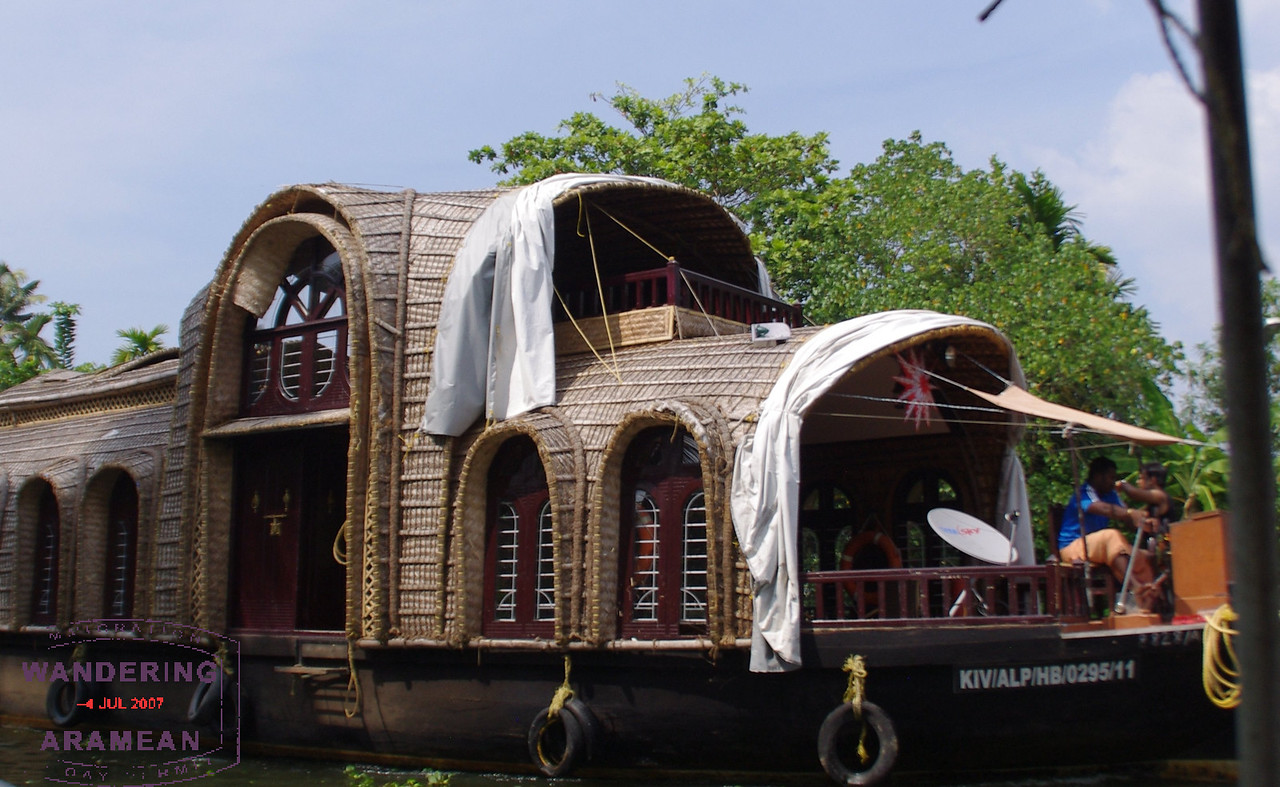 One of the more impressive houseboats on the water