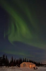 Aurora over Tent
