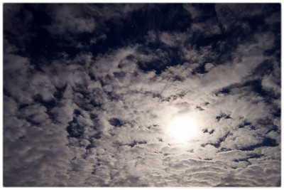 Moon & Stars & Clouds