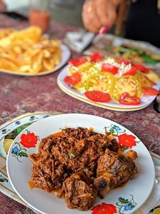 Chilindron - goat stew El Nicho