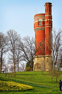 03/15/12 Water Tower in Eden Park in Cincinnati, Ohio