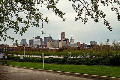 A view of Cincinnati from Union Terminal