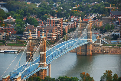 This side is Cincinnati, that side is Kentucky....Cincitucky!