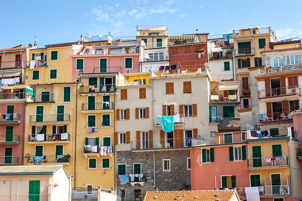 Houses in Manarola