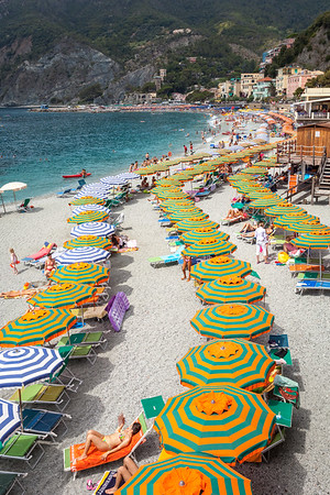 Beach in Monterosso Al Mare