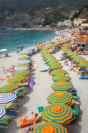 Beach in Monterosso Al Mare