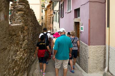 Village has very narrow streets