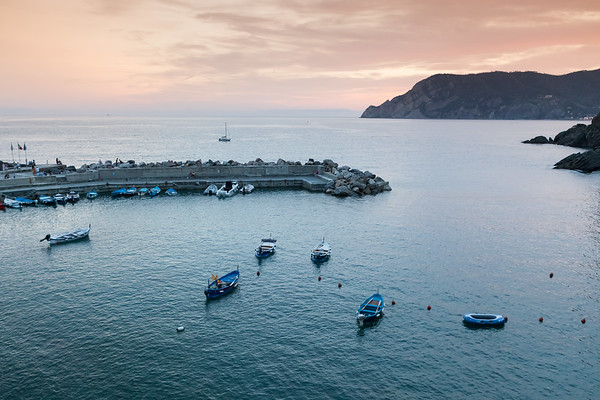 Harbor in Vernazza