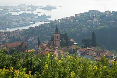 Passsing through city of La Spezia