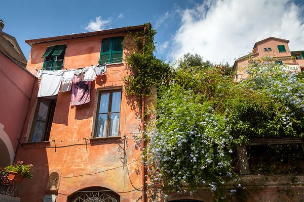 House in old part of Monterosso Al Mare, Cinque Terre, Italy