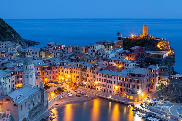 Beautiful Vernazza, Cinque Terre, Italy, 2012