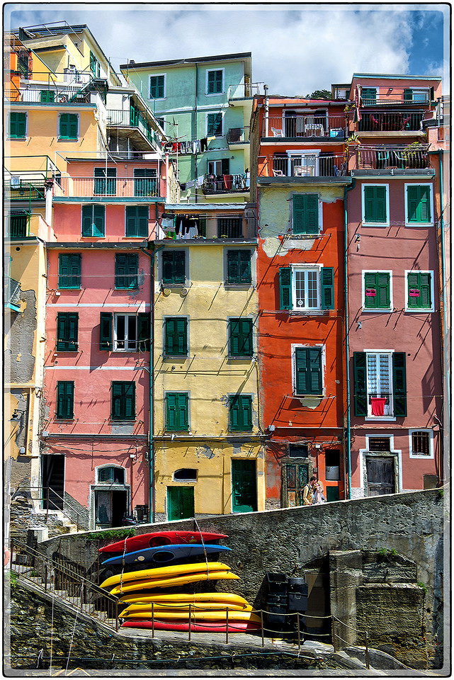 Lovers at Riomaggiore
