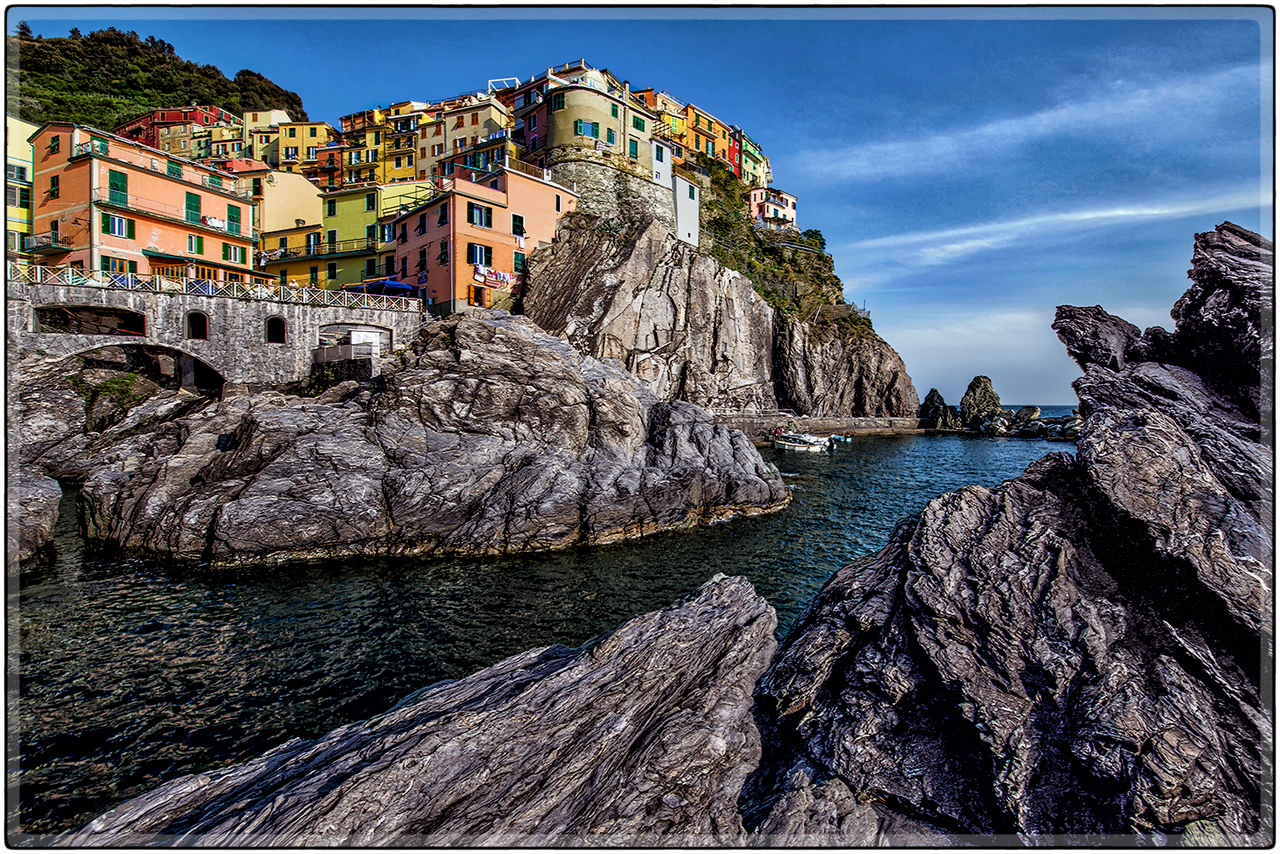 Below the Rocks of Manarola