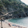 Almost at the start of Trail # 2 from Monterosso to Vernazza.
