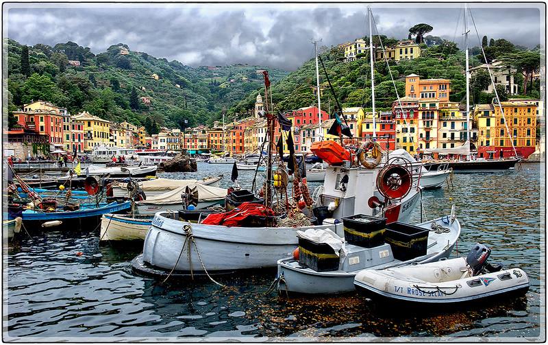 Portofino's Harbor