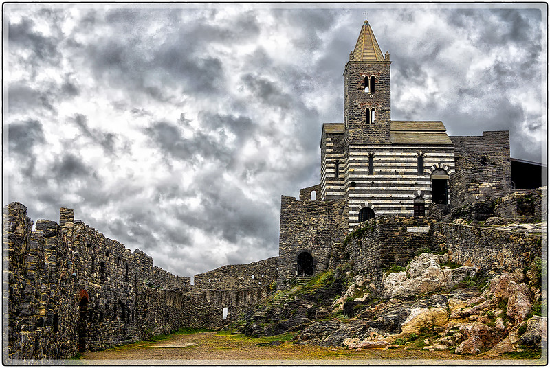 The Church of Saint Peter, Portovenere