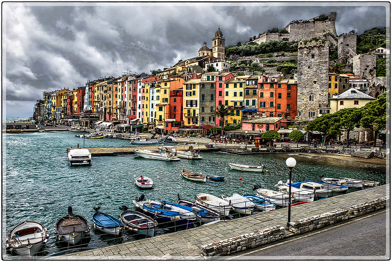 Clouds Over Corniglia