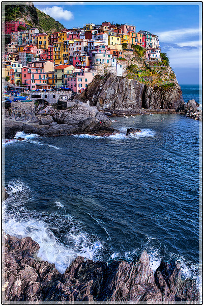 A Passing Day,  Manarola