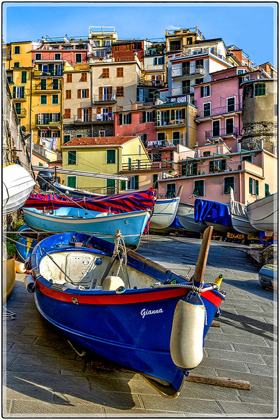 The Fishing Village of Manarola
