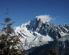 Chamonix and Mt. Blanc, France