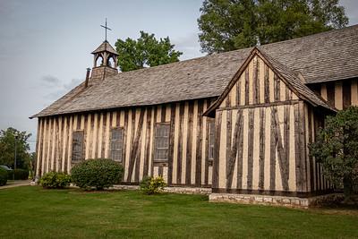 Post-On-Sill Cahokia Log Church