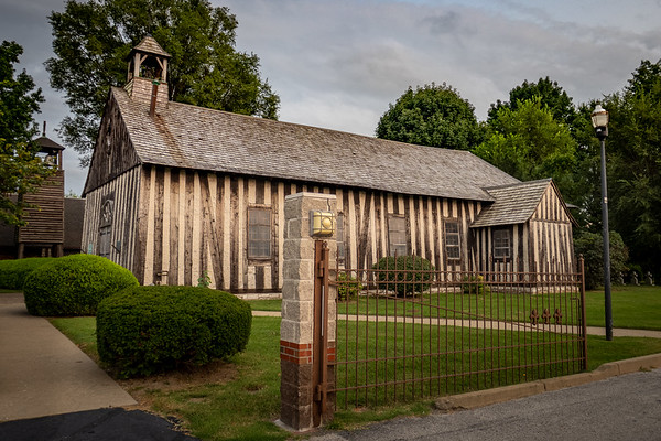 Historic Log Church of the Holy Family