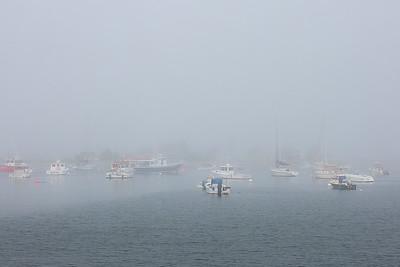 Rye Harbor Fog