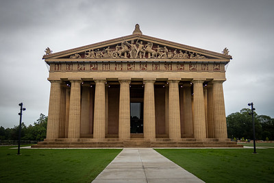 West Entrance of Parthenon in Nashville