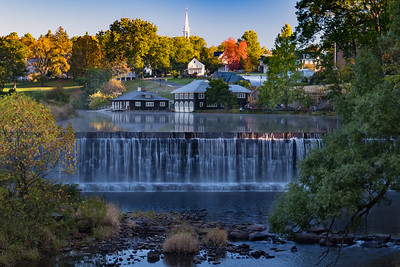 Smith College Paradise Pond Spillway