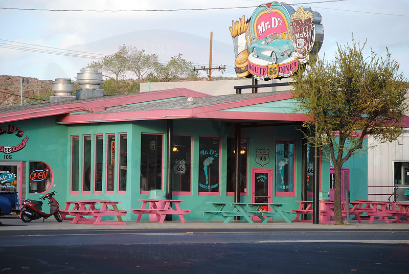 Mr. D'z Diner in Kingman, Arizona