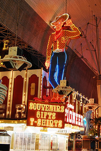 Fremont Street Experience Store.