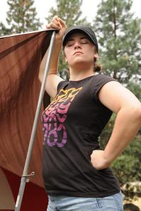 Jessie - power woman.