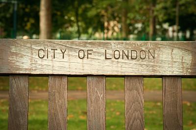 London Park Bench