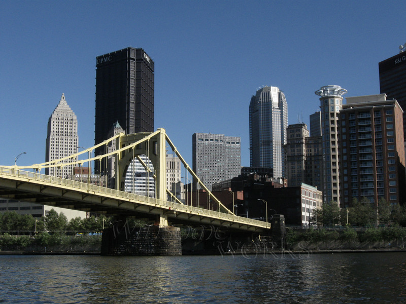 Warhol Bridge over the Allegheny River