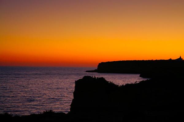 Dusk on the Algarve