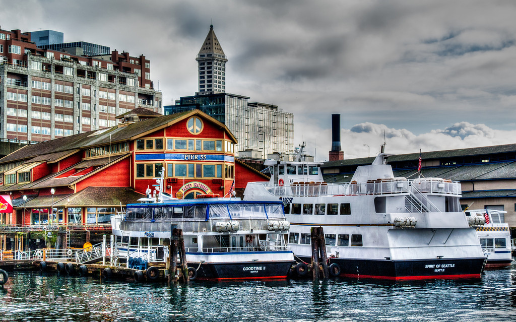 1-31-13 Seattle Waterfront shot with my Nikon 1 V1.  This was taken last Friday during my lunch break.