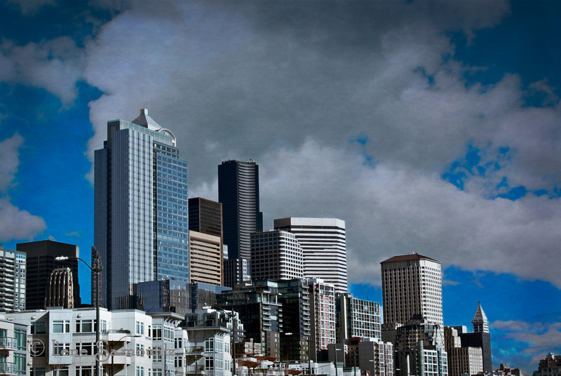 5-22-13 Seattle Waterfront Skyline
