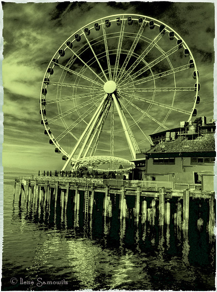 Another Seattle Ferris Wheel<br /> <br /> Critiques Welcome
