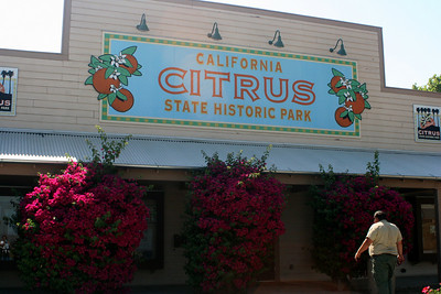 7/18/09 Visitor Center, Museum & Gift Shop. California Citrus State Park, Riverside, CA