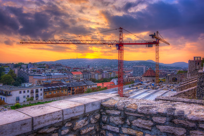 Hungarian Construction Site