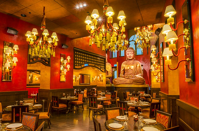 The Budda Bar Restaurant (Luminosity Masks)