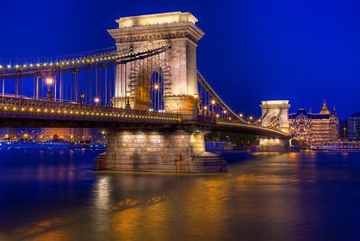 The Chain Bridge Of Hungary