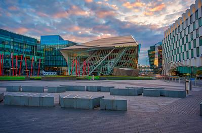 The Bord Gais Energy Theater Aurora HDR